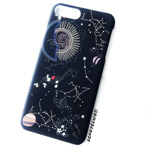 Accessories - NEW iPhone 7/8 Moon Star Constellations Case